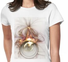 Oracle - Abstract Fractal Artwork Womens Fitted T-Shirt