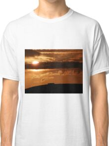 Grianian of Aileach Sunset ,Donegal, Ireland  Classic T-Shirt