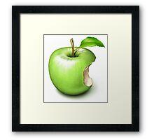Apple Core Framed Print