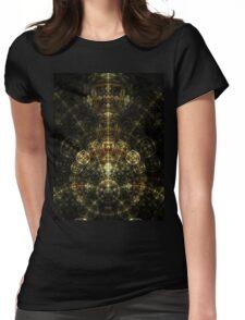 Matrix - Abstract Fractal Artwork Womens Fitted T-Shirt