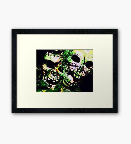 Sweet & Salty Framed Print