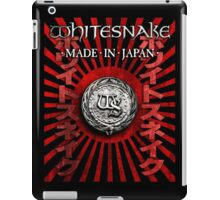 whitesnake made japan iPad Case/Skin