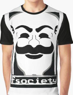 F*** Society! - Mr. Robot - Graphic T-Shirt
