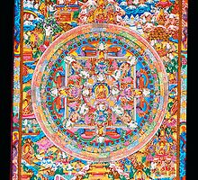 poster of buddha mandala by navaram