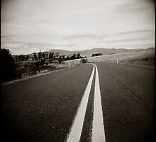 { on the road } by Lucia Fischer