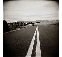 { on the road } Photographic Print