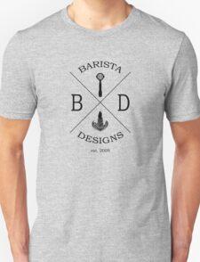 Barista Designs est.2009 T-Shirt