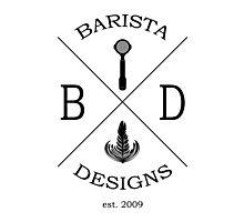 Barista Designs est.2009 Photographic Print