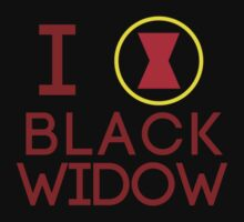 I Heart Black Widow V2 by Arcee Partridge