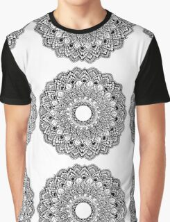 Mandala Design  Graphic T-Shirt