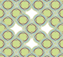 Abstract seamless pattern ornament Sticker
