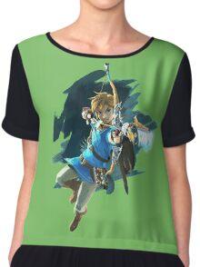 Link from Zelda Wii U: Breath of the Wild Chiffon Top