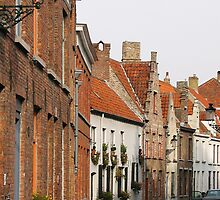 Brugge backstreets by GypsySoulImages