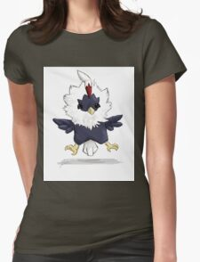 Rufflet Womens Fitted T-Shirt