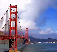 Golden Gate  by Rosalee Lustig