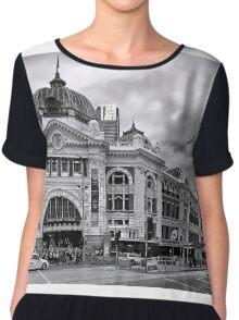 Flinders Street Melbourne Chiffon Top