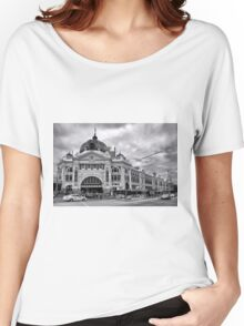 Flinders Street Melbourne Women's Relaxed Fit T-Shirt