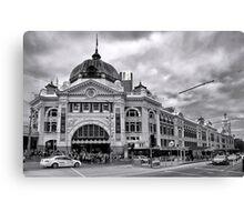Flinders Street Melbourne Canvas Print