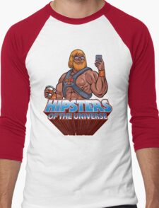 Hipsters Of The Universe Men's Baseball ¾ T-Shirt