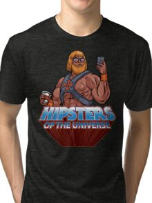Hipsters Of The Universe Tri-blend T-Shirt