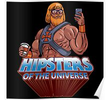 Hipsters Of The Universe Poster