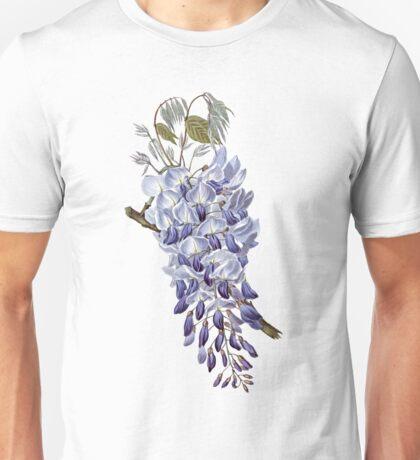 Vintage - Flower - Wisteria Unisex T-Shirt