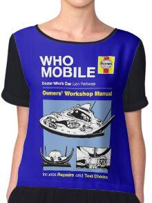 Haynes Manual - Whomobile - T-shirt Chiffon Top