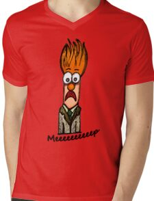 Meeeeeeeeep Mens V-Neck T-Shirt