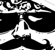Mustaches Are Blowing Up Right Now Sticker