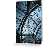 Converging lines Greeting Card