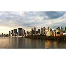 Sunset over Brisbane Photographic Print
