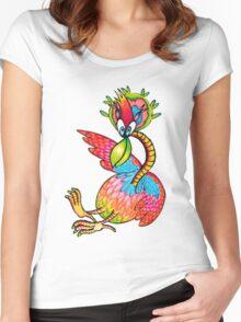 Birdy Numnum Women's Fitted Scoop T-Shirt