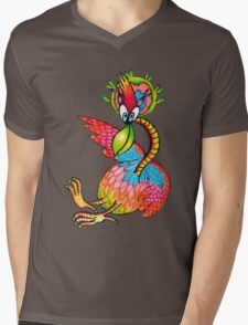 Birdy Numnum Mens V-Neck T-Shirt