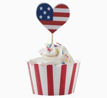 Independence day cupcakes by Elisabeth Coelfen