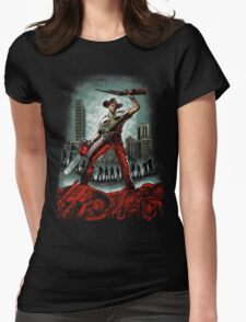 Army Of Walkers Womens Fitted T-Shirt