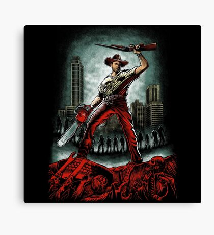Army Of Walkers Canvas Print
