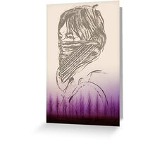 The Walking Dead / Daryl Dixon Greeting Card