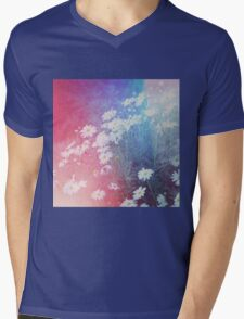 Daisy Haze Mens V-Neck T-Shirt