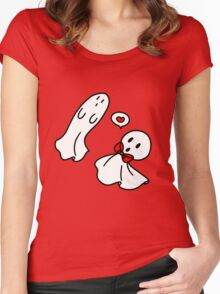 Love Ghosts Women's Fitted Scoop T-Shirt