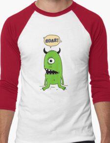 Roar! Monster! Men's Baseball ¾ T-Shirt