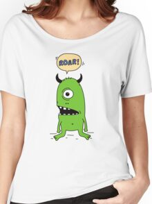 Roar! Monster! Women's Relaxed Fit T-Shirt