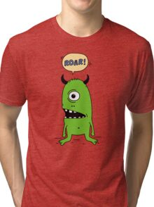 Roar! Monster! Tri-blend T-Shirt