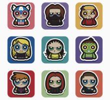 powerpuff hero icon Kids Clothes