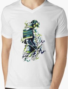 Splash Warrior Mens V-Neck T-Shirt