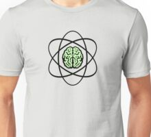 Atomic Nucleus Brain Unisex T-Shirt
