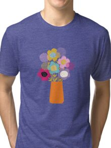 Bouquet Tri-blend T-Shirt