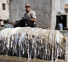 Washing The Hides by Alexandra Lavizzari