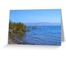 The Sea of Galilee Greeting Card