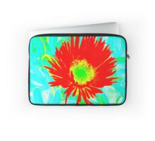 Rote Blume Laptop Sleeve