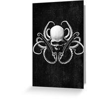 Cthulhu Noir | The Alchemist Greeting Card